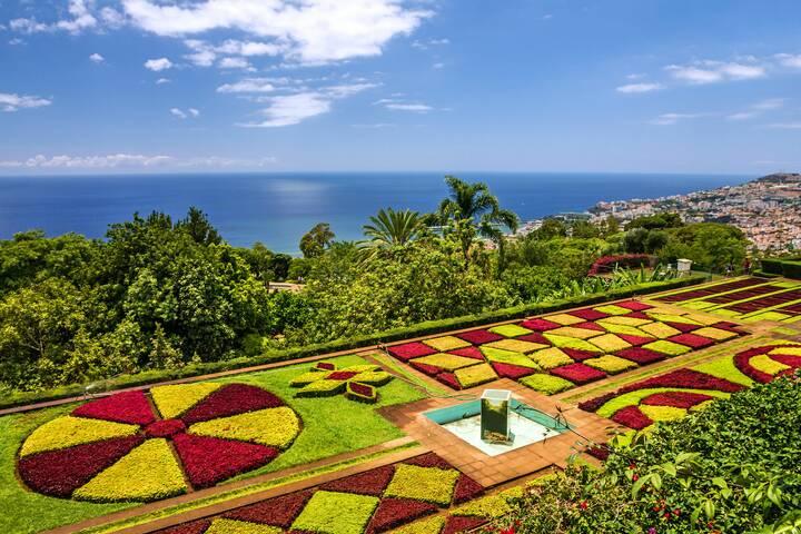 Botanischer Garten In Funchal Portugal 360