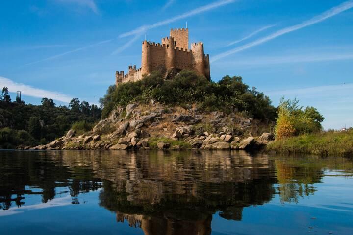 Burg Von Almourol Portugal 360