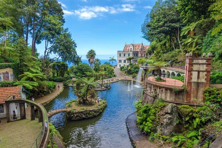 Tropischer Garten In Funchal